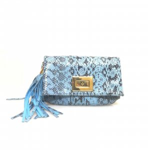 Blue Emilio Pucci Cross Body Bag