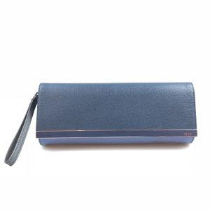 Blue Fendi Clutch