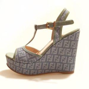 Blue Fendi High Heel