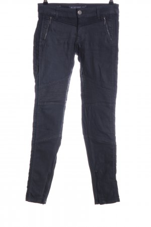 Blue Fire Biker jeans zwart casual uitstraling