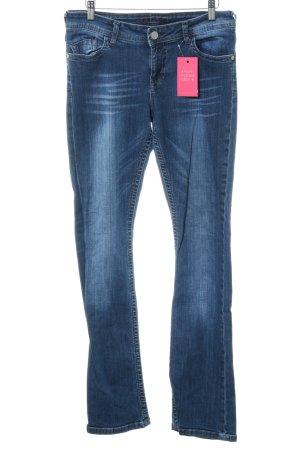 Blue Fire Boot Cut spijkerbroek blauw casual uitstraling