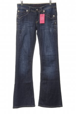 Blue Fire Boot Cut Jeans dunkelblau Casual-Look