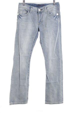 Blue Fire Boot Cut Jeans himmelblau Washed-Optik