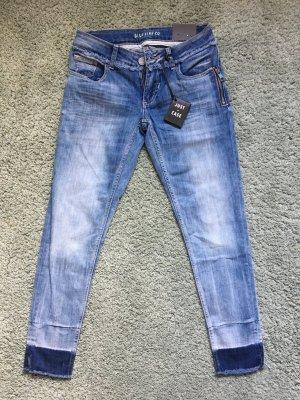 Blue Fire 7/8-jeans blauw-lichtblauw