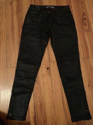 Blue Fire 7/8 Length Trousers black