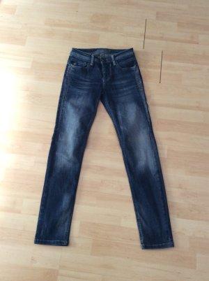 Blue Fire Co Jeans Gr w25 L 30 Stretch blau neu