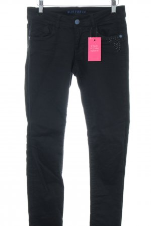 Blue Fire Low Rise Jeans black casual look