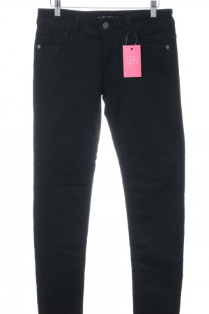 Blue Fire Low Rise jeans zwart casual uitstraling
