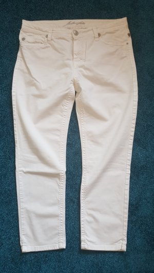 Blue Fire Jeans white