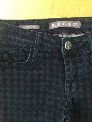 Blue Fire Jeans Hahnentritt