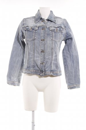 Blue Fire Jeansjacke blau Boyfriend-Look