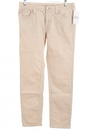 Blue Fire Röhrenjeans beige Casual-Look