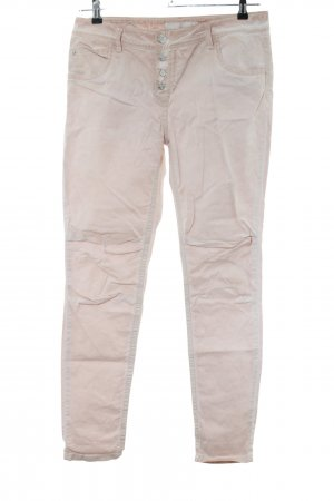 Blue Fire Tube Jeans natural white casual look