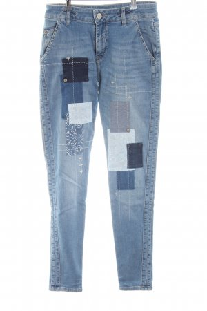 Blue Fire Skinny Jeans blau Mustermix Casual-Look