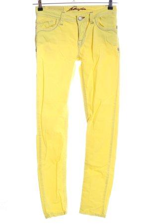 Blue Fire Skinny Jeans blassgelb Casual-Look