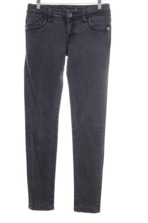 Blue Fire Skinny Jeans dunkelgrau Casual-Look
