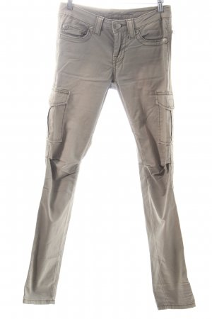 Blue Fire Pantalón tipo suéter gris verdoso Estilo ciclista