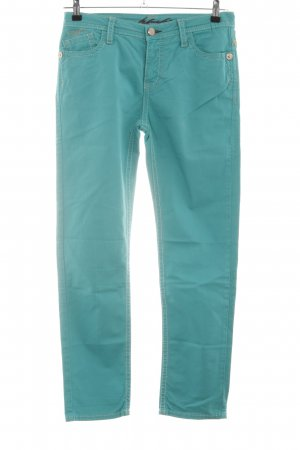 Blue Fire Straight Leg Jeans turquoise casual look