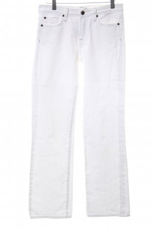 Blue Fire Straight-Leg Jeans weiß Casual-Look