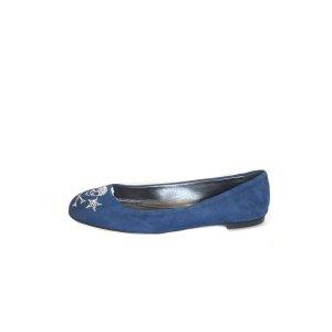Blue Giuseppe Zanotti Flat