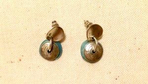 Blue Greek Earrings NEW
