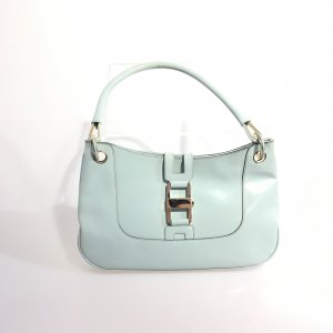 Blue Gucci Shoulder Bag