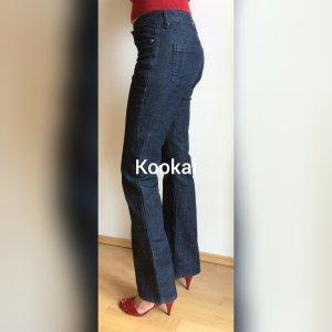 Kookai Jeans bootcut bleu foncé