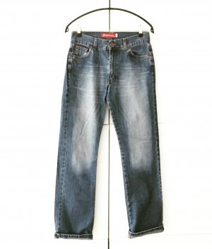 blue jeans high waist 90ies true vintage