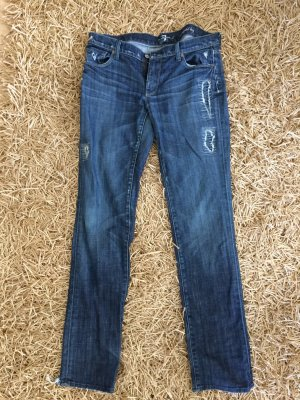 Blue Jeans im Used Look