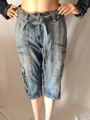 Blue Jeans Kniebundhose