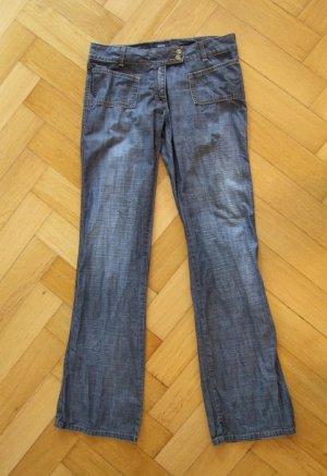Blue Jeans Straight Leg Cut Größe 36