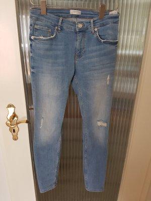 Zara Jeans bleu clair