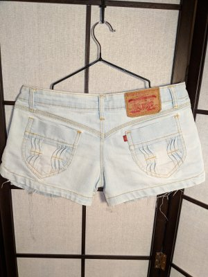 Blue Jeansshorts im Levis Style (Imitat)