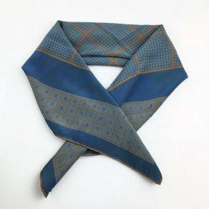 Blue Louis Vuitton Scarf