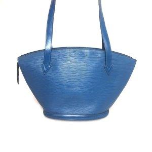 Blue Louis Vuitton Shoulder Bag
