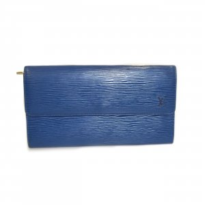Blue Louis Vuitton Wallet