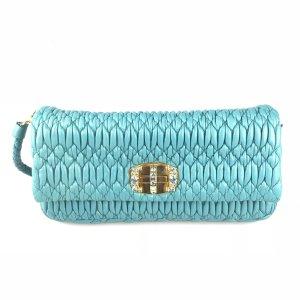 Blue Miu Miu Shoulder Bag