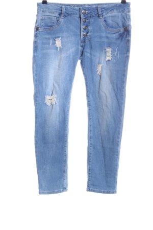 Blue Monkey 7/8 Jeans blau Casual-Look
