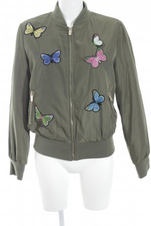 Blue Monkey Blouson multicolored street-fashion look