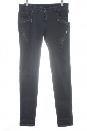 Blue Monkey Hüftjeans dunkelblau Jeans-Optik
