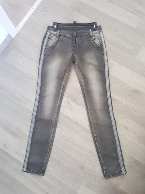 Blue Monkey Slim Jeans dark grey