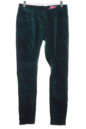 Blue Monkey Drainpipe Trousers forest green casual look