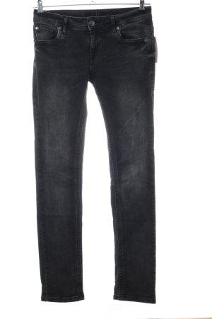 Blue Monkey Skinny Jeans schwarz Casual-Look