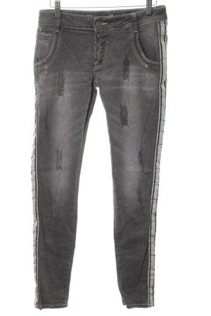 Blue Monkey Skinny Jeans hellgrau Casual-Look