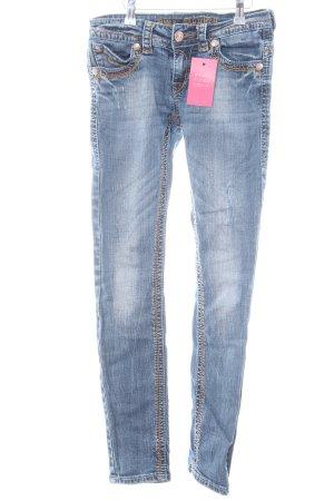 Blue Monkey Skinny Jeans blau Casual-Look
