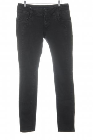 Blue Monkey Skinny Jeans schwarz Casual-Look