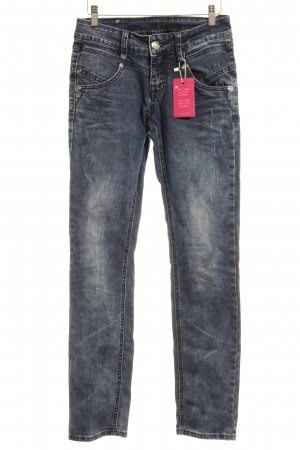 Blue Monkey Skinny Jeans steel blue casual look