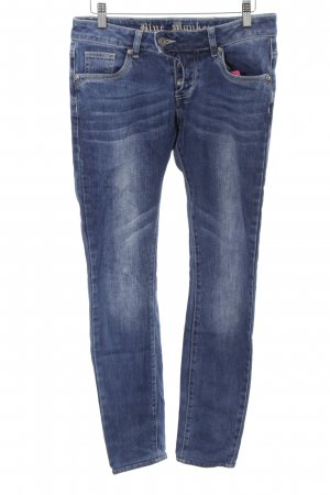 Blue Monkey Skinny Jeans steel blue-dark blue casual look