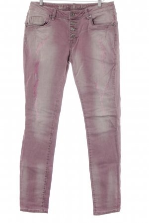 Blue Monkey Skinny Jeans violett Casual-Look