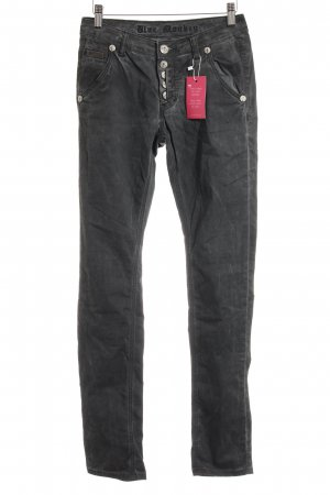Blue Monkey Slim Jeans anthrazit Casual-Look